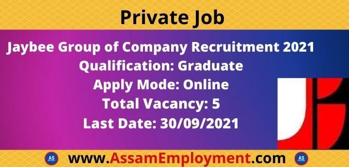 Private job in assam