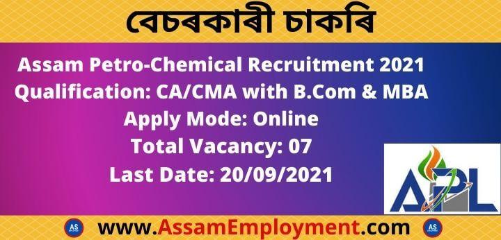 Assam private Job